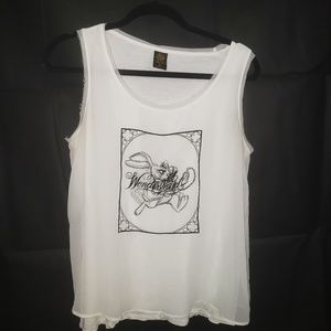 Alice Through the Looking Glass Sleeveless Top